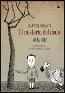 El joven Moriarti, el misterio del dodo, Sofía Rhei, Fábulas de Albión, la ventana de los libros